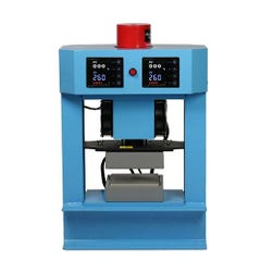 Bubble Magic 5''x5'' Hydraulic/Manual Heat Press 5 Ton