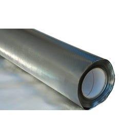 Diamond Foil on Black 110mic - 4'x100'