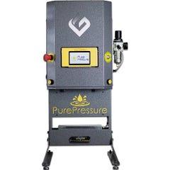 "GreenBroz Longs Peak Rosin Press (10"" x 3"" Plates  Dual Pressure  8 Tons)"