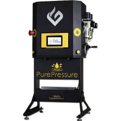 "GreenBroz Pikes Peak V2 Rosin Press (10"" x 3"" Plates  Dual Pressure  5 Tons)"