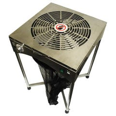 18'' TableTop Stand Motor Driven Trimmer  - Stainless