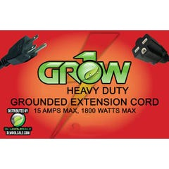 Grow1 240V Extension Cord 16 Guage 15'