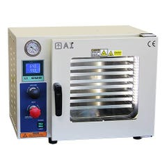 Across Int'l AccuTemp 220V 0.9 CF Vacuum Oven 5 Sided Heating & SST Tubing/Valves