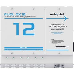 FUEL SX12 Light Controller, 12 Outlet, X-Plugs, 120/240V, with Single Trigger