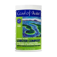 Coast of Maine Quoddy Blend Lobster Compost, 1 cu ft