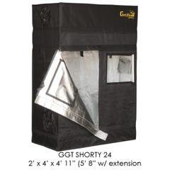 "SHORTY Gorilla Grow Tent, 2' x 4', w/9"" Extension Kit"