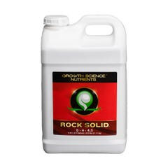 Growth Science Nutrients Rock Solid, 2.5 gal