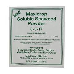 Maxicrop Soluble Seaweed Powder, 22 lbs