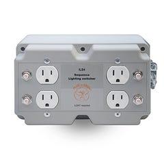 ILS4 4 Sequence Lighting/Load Switcher, 240V In, 120V Out, 120V Trigger