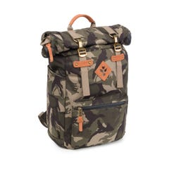 Revelry Supply The Drifter Rolltop Backpack, Camo Brown