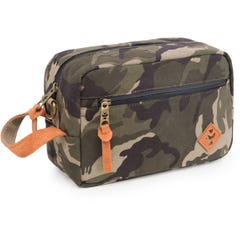 Revelry Supply The Stowaway Toiletry Kit, Camo Brown
