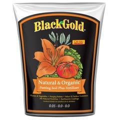Black Gold Natural & Organic Potting Soil Plus Fertilizer, 1.5 cu ft