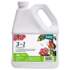 Safer 3-in-1 Garden Spray Conc. Gallon (4/Cs)