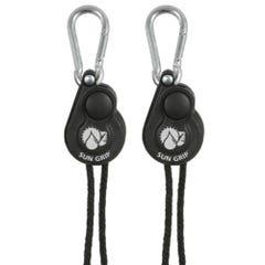 Sun Grip Push Button Light Hanger 1/8 in - 1/Pair (12/Cs)
