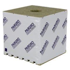 Grodan Pargro QD Jumbo Block 6 in x 6 in x 4 in w/ Hole (64/Cs)