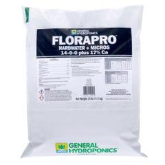 General Hydroponics FloraPro Hardwater + Micros Soluble 25 lb bag (80/Plt)