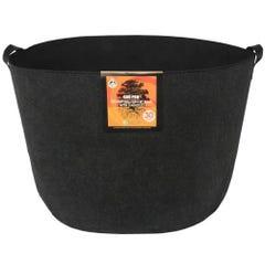 Gro Pro Essential Round Fabric Pot w/ Handles 30 Gallon - Black (30/Cs)