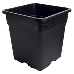 Gro Pro Black Square Pot 1/2 Gallon
