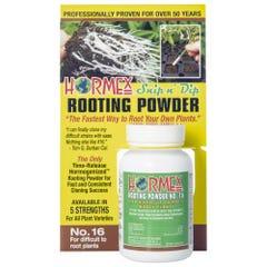 Hormex Snip n' Dip Rooting Powder #16 - 3/4 oz (12/Cs)