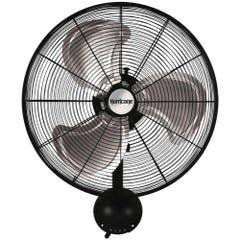 Hurricane Pro High Velocity Oscillating Metal Wall Mount Fan 20 in