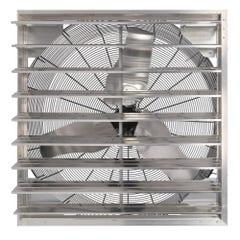 Hurricane Pro Shutter Exhaust Fan 36 in