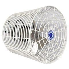 Schaefer Versa-Kool Circulation Fan 8 in w/ Tapered Guards Cord & Mount - 450 CFM