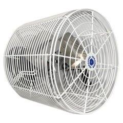 Schaefer Versa-Kool Circulation Fan 12 in w/ Tapered Guards, Cord & Mount - 1470 CFM
