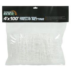 Grower's Edge Commercial Grade Trellis Netting 4 ft x 100 ft (15/Cs)