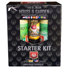House and Garden Aqua Flakes Starter Kit (4/Cs)