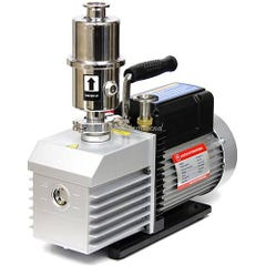 Across Int'l EasyVac 9 cfm Dual-Stage Vacuum Pump with Oil Mist Filter