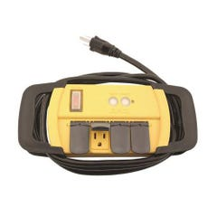 Power All Indoor GFCI Power Strip 4 Outlet 125 Volt 6 ft Cord
