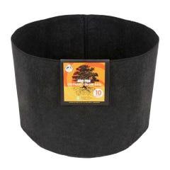 Gro Pro Essential Round Fabric Pot - Black 10 Gallon (60/Cs)