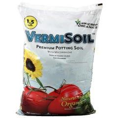 Vermicrop VermiSoil Premium Potting Soil 1.5 cu ft (55/Plt)