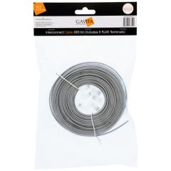 Gavita E-Series LED Adapter Interconnect Cable 80ft Kit (Includes 6 RJ45 Terminals)