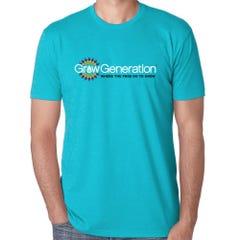 GrowGeneration Logo Blue Shirt