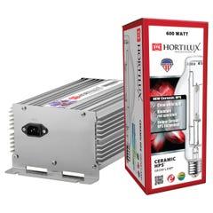 Hortilux Ceramic HPS Lamp and Ballast Kit, 600W, 120/240V