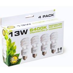 SunBlaster CFL 6400K 4/pk, 13W