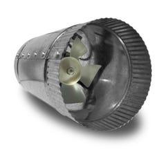 Vortex Powerfan VTA In-line tube axial 4'', 115V/1PH/60Hz, 66 CFM