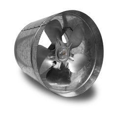 Vortex Powerfan VTA In-line tube axial 10'', 115V/1PH/60Hz, 411 CFM