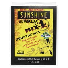 Sunshine Advanced Mix # 4 - 3 cu ft Compressed (35/Plt)
