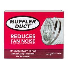 Can-Fan Muffler Ducting 14 in x 15 ft