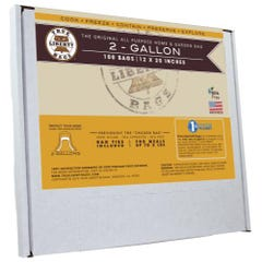 True Liberty 2 Gallon Bags 12 in x 20 in (100/pack)