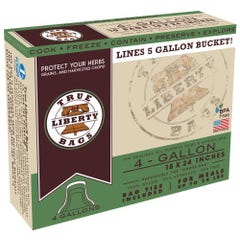True Liberty 4 Gallon Bags 18 in x 24 in (25/pack)