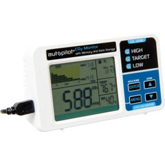 Autopilot Desktop CO2 Monitor with Memory and Data Storage