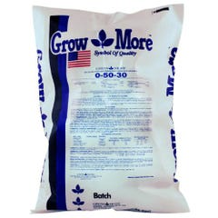 Grow More Water Soluble 0-50-30, 25 lbs