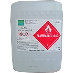 Isopropyl Alchohol, 99.9%, 5 gal pail