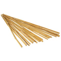 GROW!T 8' Bamboo Stakes, Natural, pack of 25