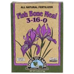 Down To Earth Fish Bone Meal - 5 lb (6/Cs)