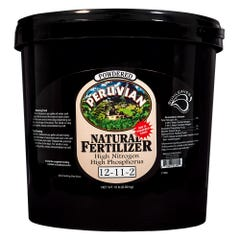 Sunleaves Peruvian Seabird Natural Fertilizer-Powdered 12-11-2, 15 lb
