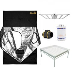 GrowPro Select 5x5 Luxx LED Gorilla Tent Package